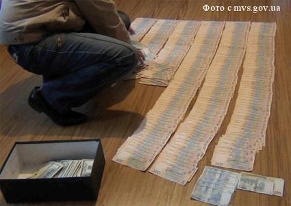 Изъятые у мошенников деньги