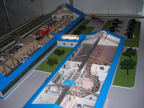 Архитектурно-планировочные приемы застройки животноводческих производственных территорий