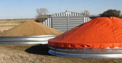 кольцевые зернохранилища
