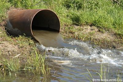 сброс загрязненных сточных вод