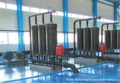 Промышленные фильтры воды