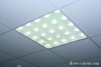 Светодиодный светильник под потолок Армстронг