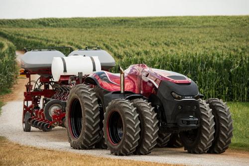 Case IH со своим бескабинным Autonomous Concept Vehicle