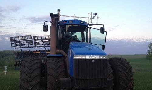 беспилотный трактор компании Cognitive Technologies