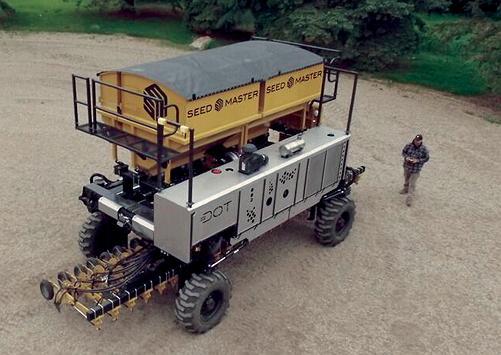 Автономная полевая платформа DOT