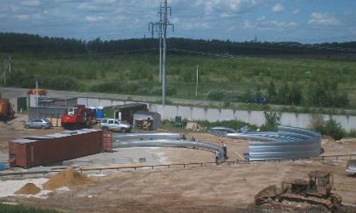 строительство арочного ангара