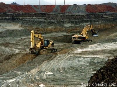 Добыча титановой руды на Житомирщине