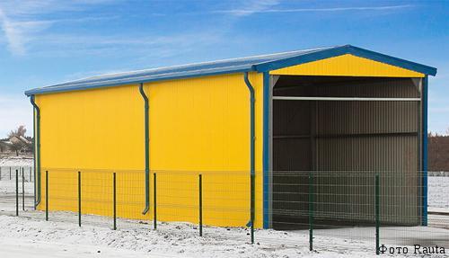 Вспомогательные здания молочных ферм
