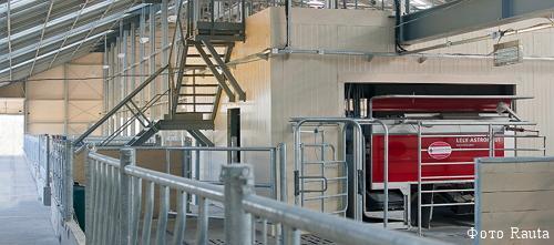 Технологическое оборудование для молочных ферм