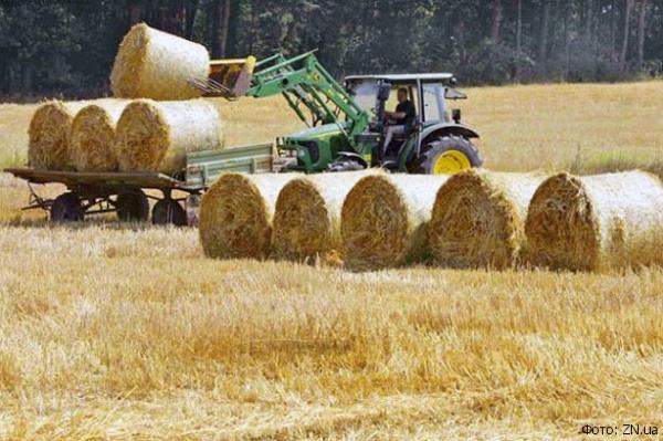 завода для изготовления биогаза из пшеничной соломы
