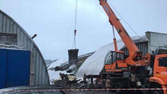 В результате обрушения крыши картофелехранилища в Тульской области погибли три человека