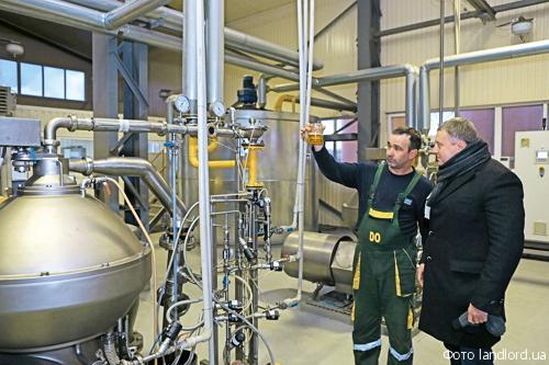 Компания «Днипроолия» планирует построить третье экстракционное отделение завода, два элеватора по хранению шрота, цех его грануляции