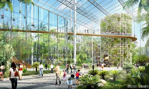 Архитектурная компания Sasaki разработала концепцию целого сельскохозяйственного района