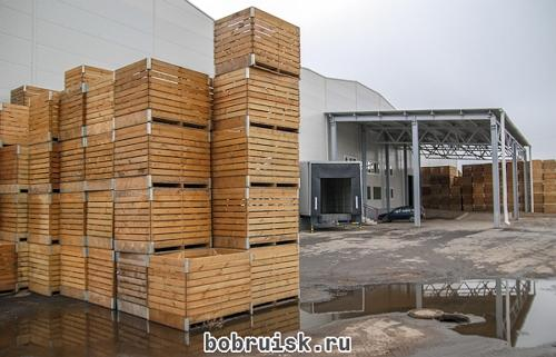 картофелехранилище СПК «Гигант»