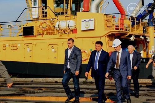 В Мариупольском порту стартовало строительство зернового терминала