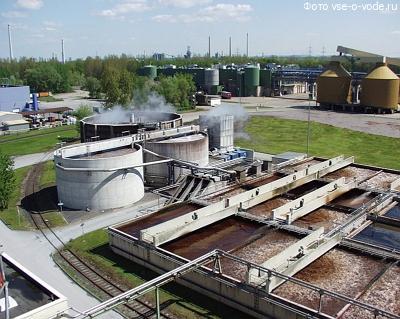 строительство комплекса водоочистных сооружений